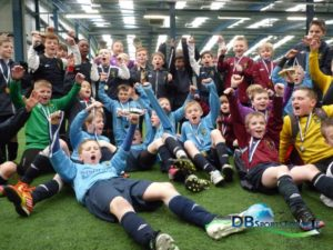 NDSL celebrate Manchester Easter Cup 2013 victory