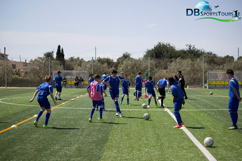 DB Sports Tours Futbol Salou Training Session shot