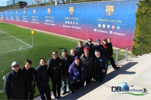 Utah coaches visit the Barcelona Academy with DB Sports Tours
