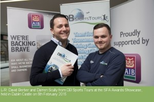 DB Sports Tours SFA Finalists
