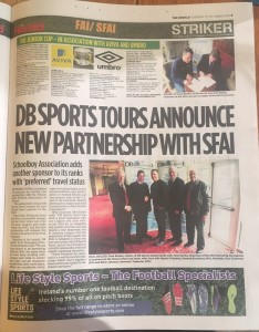DB Sports Tours SFAI Partnership