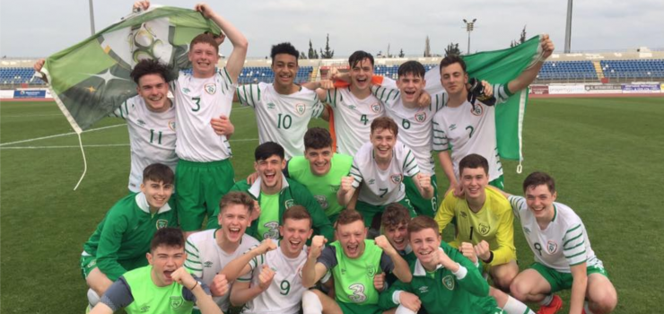 Ireland U17s Qualify
