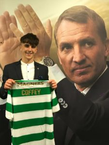 Barry Coffey Signs for Celtic FC, DB Sports